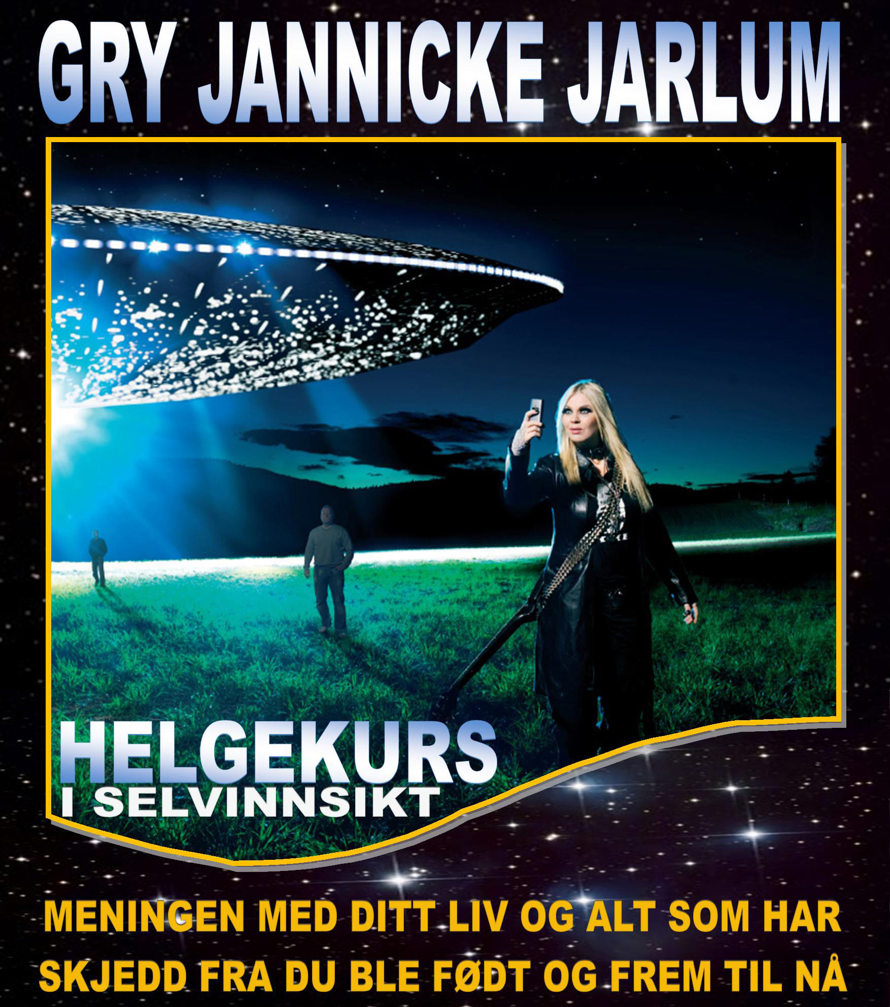 Gry Jannicke Jarlum* Jannicke - I'll Live Forever